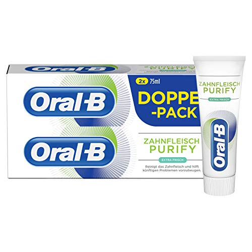 Oral-B tandvlees Purify Extra verse tandcrème 2x75ml