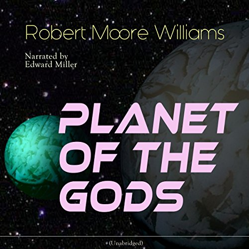 Planet of the Gods audiobook cover art