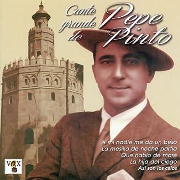 Cante Grande de Pepe Pinto