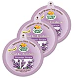 Citrus Magic Odor Absorbing Solid Air Freshener, Lavender Escape, 8-Ounce, Pack of 3