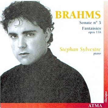 Brahms: Piano Sonata No. 3 / 7 Fantasies, Op. 116