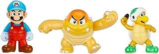 NINTENDO Mario Bros U Micro Figure (3-Pack : Ice Mario/Boom Boom/Hammer Bros)