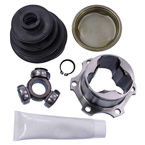 1x Antriebswellengelenk Gelenksatz getriebeseitig mit Anbauteilen Vorderachse