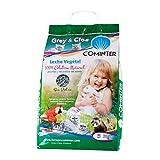 Cominter Animal Health Lecho Vegetal Papel Grey Cloe 20L 8000 g, Gris