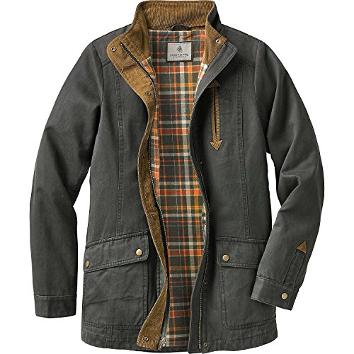 Legendary Whitetails Women's Saddle Country Shirt Jacket Tarmac Small