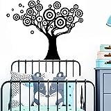 BailongXiao Divertido árbol Etiqueta de la Pared Etiqueta de la Pared para la habitación de los niños decoración del hogar decoración del hogar Accesorios 28x35cm