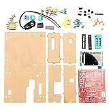 No branded Transistor Tester DIY Mega328 with Case Transistor Tester Kit Capacitance Inductance ESR Meter Diode Triode Home Tool