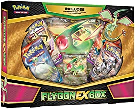 Pokémon Pokemon TCG: FLYGON-EX Box -4 Booster Packs with A Foil Promo Card and 1 Special Oversize Card