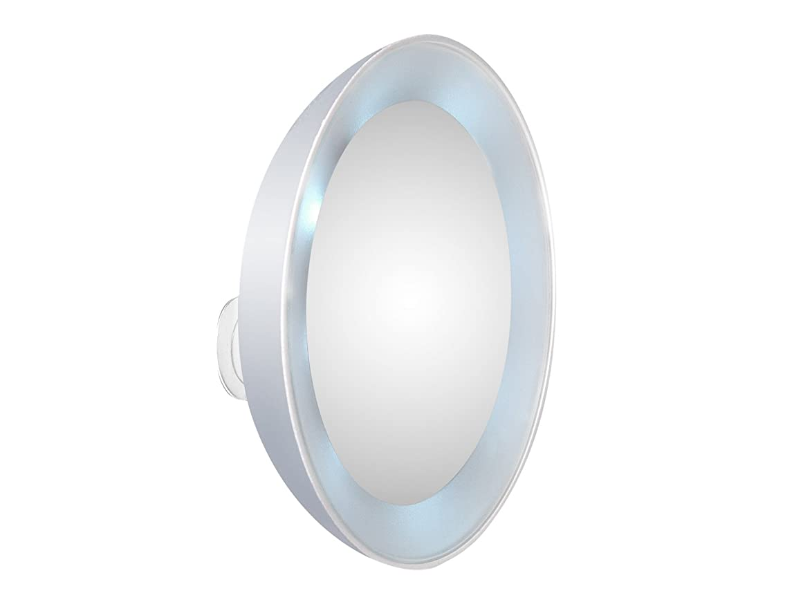 ジムセント偶然のTWEEZERMAN マグニファイングミラー LEDライト付き 58400-268