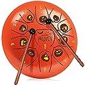 Happara 10 Inch Halloween-Themed Steel Tongue Drum