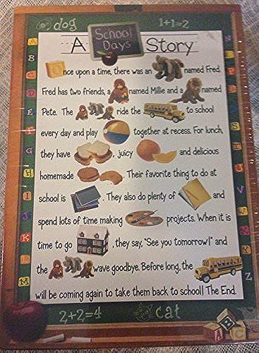 buena calidad A School Days Story  a Springbok Puzzle by by by Springbok  Ahorre 60% de descuento y envío rápido a todo el mundo.