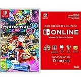 Mario Kart 8 Deluxe (Nintendo Switch) + Nintendo Switch Online - 12 Meses (Código de Descarga)