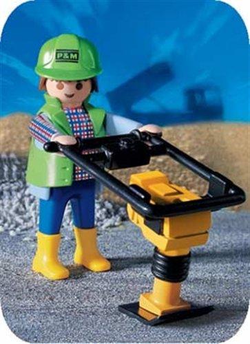 PLAYMOBIL® 3271 - Bauarbeiter - Rüttler