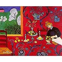 番号による図油絵大人のためのキャンバス上のフレーム付きテーブル装飾壁番号による画像ホームデコレーションアート