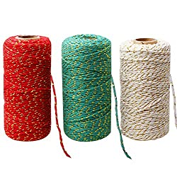 Bakers Twine for Christmas Cards