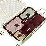 topxingch 6 bolsas de almacenamiento de viaje con cremallera...