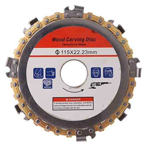 Chaoxiner 115mm 22mm Durchmesser 8 Zahn Kreissäge Kettenscheibe Für Winkelschleifer Holz, Sägeblatt Für Die Holzbearbeitung Schlitzschnittstück