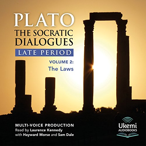 The Laws     The Socratic Dialogues Late Period, Volume 2              De :                                                                                                                                 Plato                               Lu par :                                                                                                                                 Laurence Kennedy,                                                                                        Hayward Morse,                                                                                        Sam Dale                      Durée : 14 h et 9 min     Pas de notations     Global 0,0