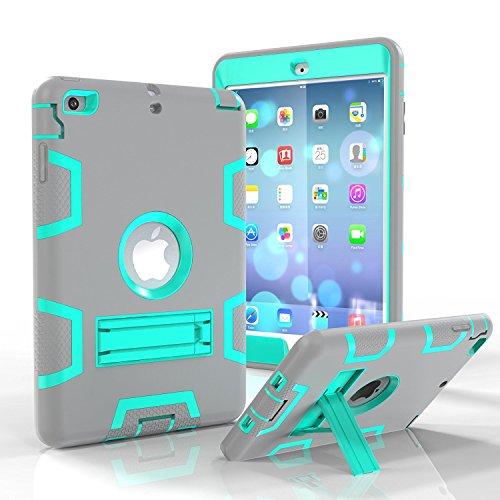 Funda para iPad Mini, iPad Mini 2, iPad Mini 3, iPad Mini Retina, Daker de Tres Capas, Resistente, a Prueba de Golpes, Funda Protectora para iPad Mini, iPad Mini 2, iPad Mini 3 con función Atril