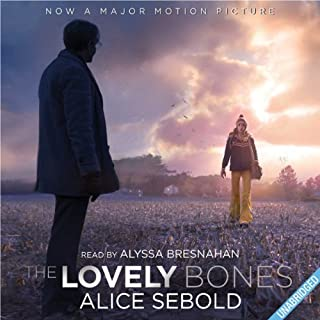 The Lovely Bones                   By:                                                                                                                                 Alice Sebold                               Narrated by:                                                                                                                                 Alyssa Bresnahan                      Length: 11 hrs and 35 mins     67 ratings     Overall 3.7