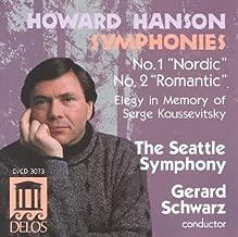 Howard Hanson Symphonies No. 1