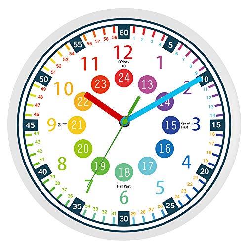 relojes de pared para niños de la marca BREIS