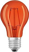 OSRAM LED lamp   Lampvoet: E27   Oranje   1500 K   2,50 W   helder   LED STAR DÉCOR CLASSIC A [Energie-efficiëntieklasse A+]