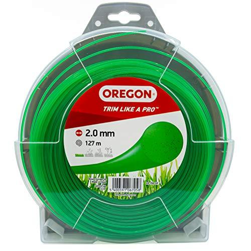 Oregon 69-350-Y Rasentrimmerfaden / Draht für Rasentrimmer und Freischneider, Gelb, 69-358-GR