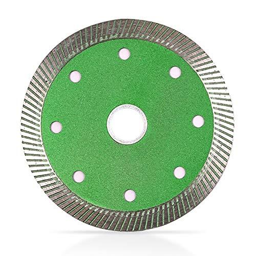 JIAN LIN Diamante de 105 mm Hoja de Corte de Cuchillas de Corte Turbo Turbo Sierra de Hoja de Corte Dispositivo de Corte para Azulejos de hormigón de Piedra