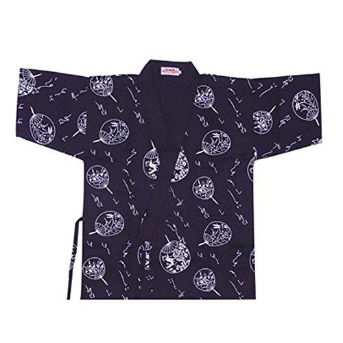 Chaqueta japonesa del jefe de la cocina del sushi del cocinero de los uniformes del trabajo de la manga para el unisex, # 12