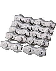 Abrazaderas dobles de la cuerda de alambre del acero inoxidable 304 para el paquete del equipo eléctrico de 10