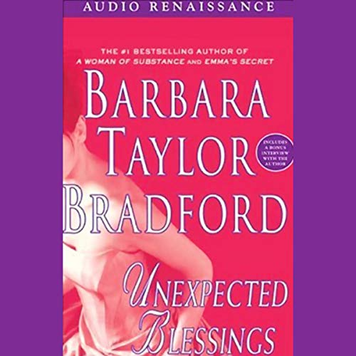 Unexpected Blessings audiobook cover art