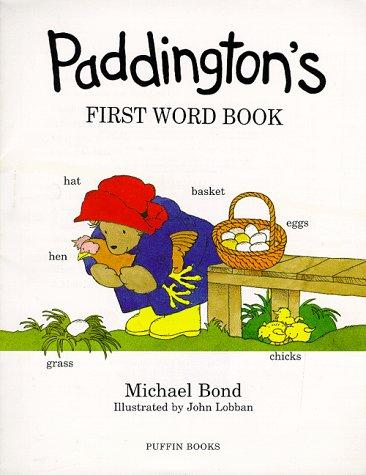 Paddington's First Word Book