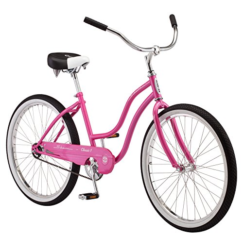Schwinn Classic Cruiser Bike, 26-Inch Wheels, Pink
