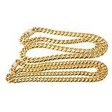 Aooaz Collar Acero Inoxidable Hombre Collar De Cadena Cubana Oro Collares De Hombre Chapa Punkanchura 14mm Longitud 34 Inch