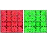 Shapemags 2 Pcs Set Magnet Building Tiles Magnetic...