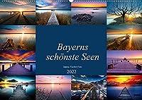 Schoene Seen in Bayern (Wandkalender 2022 DIN A2 quer): Bayerns schoenste Seen (Monatskalender, 14 Seiten )
