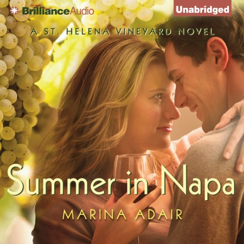 Summer in Napa audiobook cover art