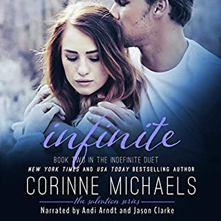 Infinite audiobook cover art