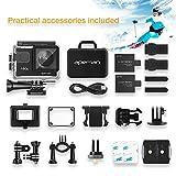 APEMAN Action Kamera WIFI sports cam 4K camera 20MP Ultra Full HD Unterwasserkamera - 8