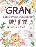 Gran Libro Para Colorear Para Niños De 2 a 4 Años: Páginas para colorear súper divertidas y simples para niños pequeños