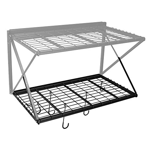 Proslat 63020 ProRack Heavy Duty Secondary Shelf, Charcoal Granite, 48' x 28'