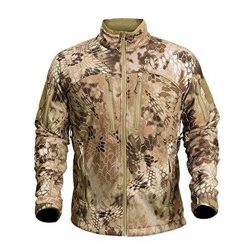 Kryptek Men's Waterproof Cadog Shield Jacket, Highlander, X-Small