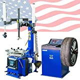 CHIEN RONG New 988 Tire Changer Wheel Changers Machine Combo 680 Balancer Rim Clamp / 12 Month Warranty