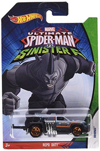 Assortiment de voiture Spiderman