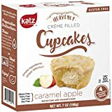 Katz Gluten Free Caramel Apple Crème Filled Cupcakes | Dairy Free, Nut Free, Soy Free, Gluten Free | Kosher (6 Packs of 4 Crème Cupcakes, 7 Ounce Each)