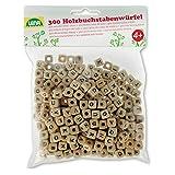 300 Buchstabenwürfel aus Holz