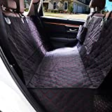 LETTON Dog Car Seat Cover Waterproof Durable Anti-Scratch Nonslip Back Seat Pet Protection Dog Travel Hammock with Side Flaps for Cars/Trucks/SUV