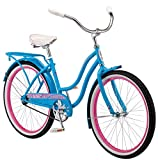 Product Image of the Schwinn Baywood Cruiser Bike, Featuring Steel Step-Through Frame and...