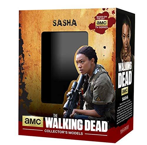 Figura The Walking Dead Sasha (Colector's Models) Nº 10 - Año 2015